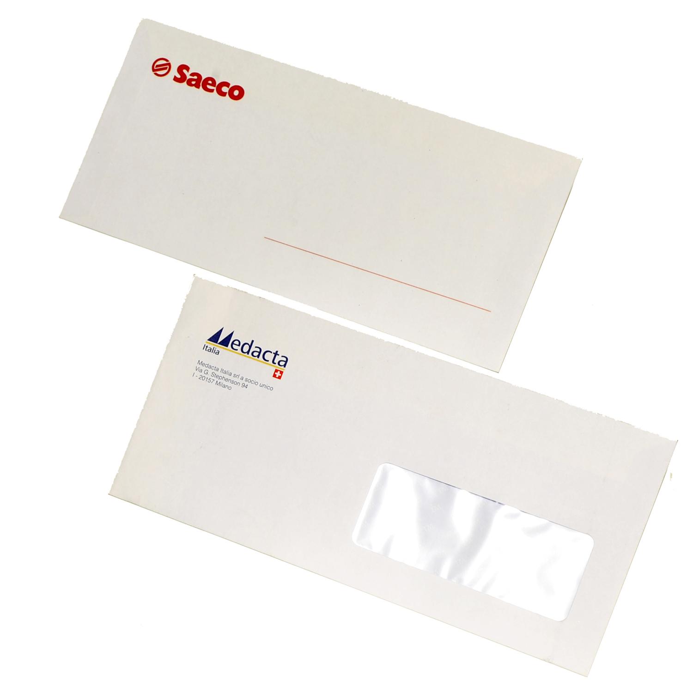Stampa buste commerciali espresso per la tua azienda - Buste 11x23 senza finestra ...